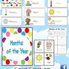 Months of the Year Cards   Seasons Poster - both hemispheres - PDF files13 page resource (not including the additional hemisphere resource) desig...