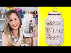 Santa Receita | Aprenda a fazer adesivagem em potes de mantimentos por Eliane Tanelli - 15 de maio - YouTube