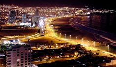 Playa Brava - Iquique Lan Airlines, Belinda Carlisle, Night City, Latin America, City Lights, Places Ive Been, Earth, Country, World