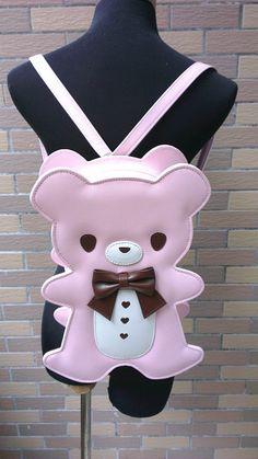 Loris Gingerbread Bear Bag
