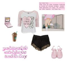 """""""Nymphet cutie"""" by jojobabydoll123 ❤ liked on Polyvore featuring UNIF, Lover and Nintendo"""