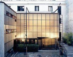 La Maison de Verre: Pierre Chareau, Bernard Bijvoet & Louis Dalbet. Via Aurélie Bidermann | Blog |