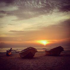 Sunrise @ Arugam Bay, Sri Lanka