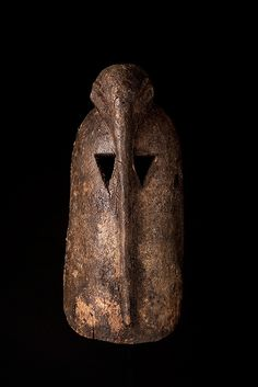 Dogon bird mask, Mali, 20th century (wood)
