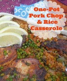 All in one Dinner with tender, juicy Pork Chops