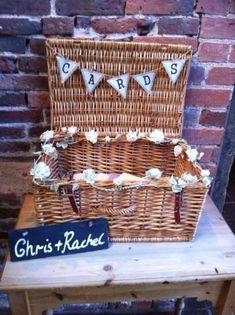 Vintage Wicker Card Basket's For *HIRE ONLY* Weddings/birthdays/christenings.   eBay