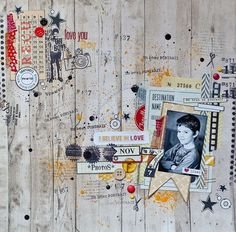 By Maska - Collection Texturize, collection Spring-a-Licious, card