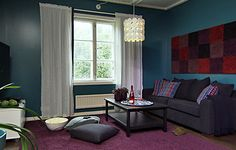 Samin olohuone (TYYLIVARKAAT)   Sisustussuunnittelu minna #sisustusminna #sisustussuunnitteluminna #boheemi #petrooli #livingroom