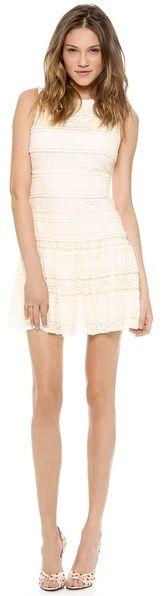 Alice + Olivia Chap Drop Waist Lace Dress on shopstyle.com