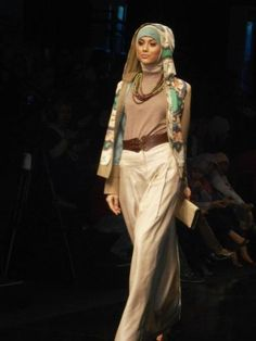 hijab fashion style...love, love, love this outfit!!!!...:>