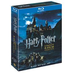 Harry Potter: The Complete 8-Film Collection (BD) Blu-ray --- Because I'm still missing a couple movies, and some of mine are on their last legs