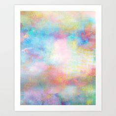 Untitled (Cloudscape) 20121113o Art Print by Tchmo - $17.00