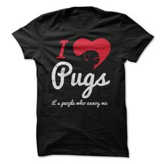 I Love Pugs, It's People Who Annoy Me