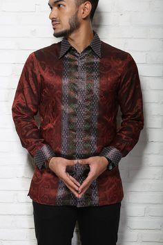 Negarawan | Tenun & Batik Pria Modern | No More 'Pak RT' Look With Batik and Tenun