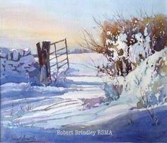 Robert Brindley ·     'Snow Drifts'.