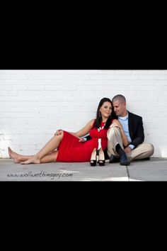 Engagement photo downtown Beaufort. Wollwerth Imagery  Christian Louboutin  Burberry
