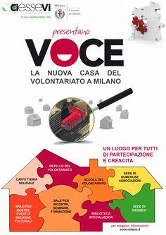 #VOCE - La #Casa del #Volontariato di #Milano    I #Servizi offerti alle #associazioni, ai #giovani e alla #cittadinanza