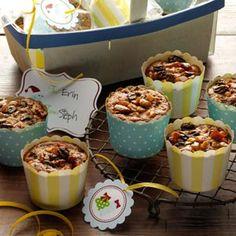 Miniature Christmas Fruitcakes Recipe | Taste of Home Recipes