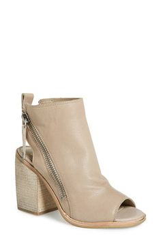 Dolce Vita 'Port' Open Toe Bootie leather almond 3.5sh 3.5h sz7.5 179.95