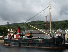 J M Briscoe - Clyde puffer VIC32 moored at Corpach - Clyde puffer - Wikipedia, the free encyclopedia