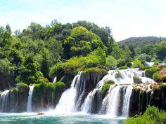 #visitcroatia #krka Krka National Park, Visit Croatia, Travelling, Waterfall, Waterfalls