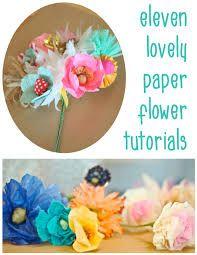 diy paper flower wedding bouquet - Google Search