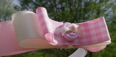 Very delicate feminine pink pink and white plaid and by McGarritys, $7.50