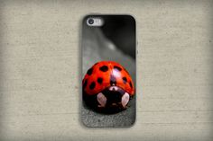 Ladybug Photography Phone case,cute bugs photo phone case,cute lady bug,ipad case,unique photography,iPhone case,Samsung Galaxy case,pretty by VanillaExtinction on Etsy