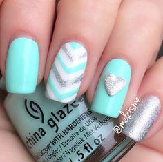 My Vday nails