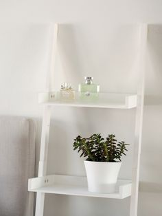 an airy alternative to a bedside table // photo by Jenni Rotonen