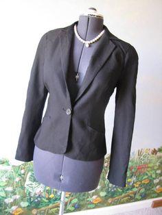 Max Studio Long Sleeve Black Suit Blazer / Jacket Size M NWT $98 #MaxStudio #Blazer