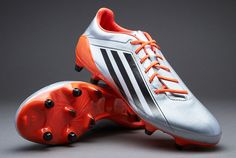 on sale ce0c0 6539c There is a new rubberised print along the front of the toe of the adidas  adizero PRO FG rugby boot which improves control when striking the ball, ...