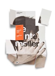 foldable brochure by face | 123 Inspiration