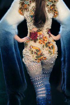 Art textile Jean-Paul Gaultier