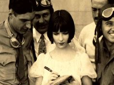 Louise brooks now we're in the air