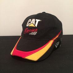 2f0a8a9bff7 Cat Caterpillar Racing Jason Bright 25 Ford Falcon V8 Supercars Black Cap  Hat