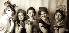 The 1940s themed Blitz Party, a night of wartime romance and swing music.