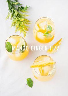 mango ginger fizz | designlovefest