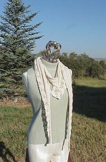Kriskrafter: Free Pattern! The Gallatin Scarf, for one of my yarns from New England