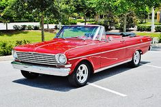 1963 Chevrolet Nova SS Convertible restored