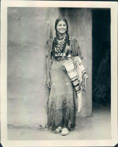 1937 Miss Indian America Princess Lou-scha-enya of the Chickasaws