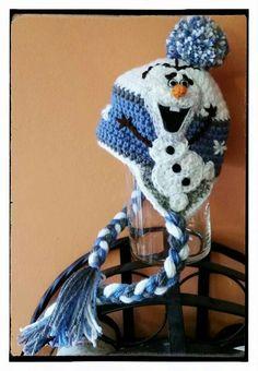 Crochet hat character disney frozen 47 best ideas – The Best Ideas Crochet Hat Earflap, Crochet Kids Hats, Crochet Cap, Crochet Shoes, Crochet Crafts, Crochet Clothes, Crochet Projects, Knitted Hats, Crochet Olaf Hat