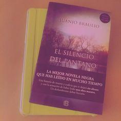 """""""""""Se encendió el quinto Marlboro de la mañana y miró el reloj: las diez menos cuarto."""" El silencio del pantano  Juanjo Braulio #28RetoLiterario2015…"""""""