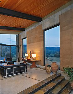 combing rammed earth and cement