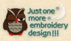 Just One More Design! - 5x7 | Birds and Birdhouses | Machine Embroidery Designs | SWAKembroidery.com Starbird Stock Designs