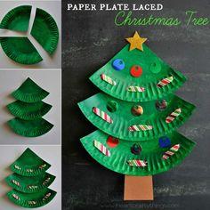 Christmas tree craft ❤️