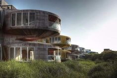 НЛО-дома (The Ufo House) в тайваньском Сан-зи