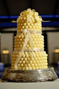.Love this...how 'bout a cake just like this covered in Cheetos Balls?!?!
