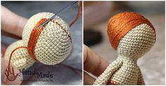 Куколка Бетти крючком. Описание вязания и пошаговые фото.