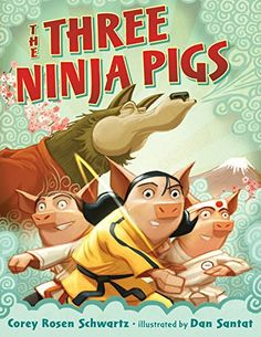 Traditional. Ages 3-7. The pigs will not be bullied by the wolf anymore. A fun twist to the classical story that teaches kids to stand up for what is right.